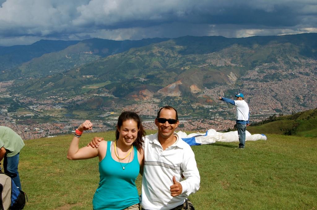 Paragliding with Zona de Vuelo in Medellin, Colombia