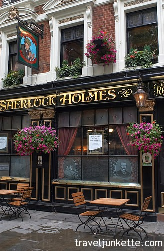 Sherlock Holmes pub in London