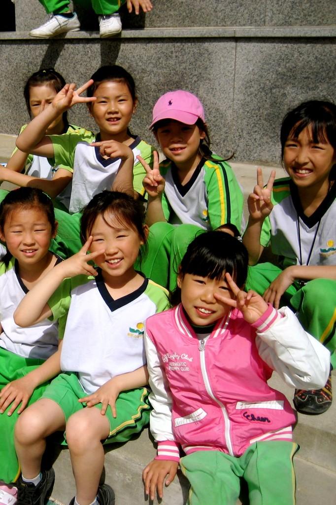 South Korean students Jeju Island