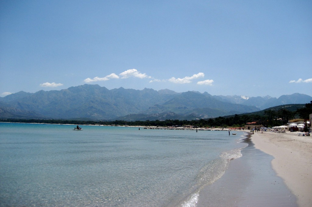 beach in Corsica, France