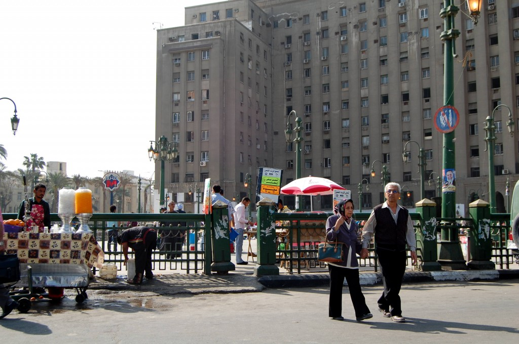 Tahrir Square April 2012