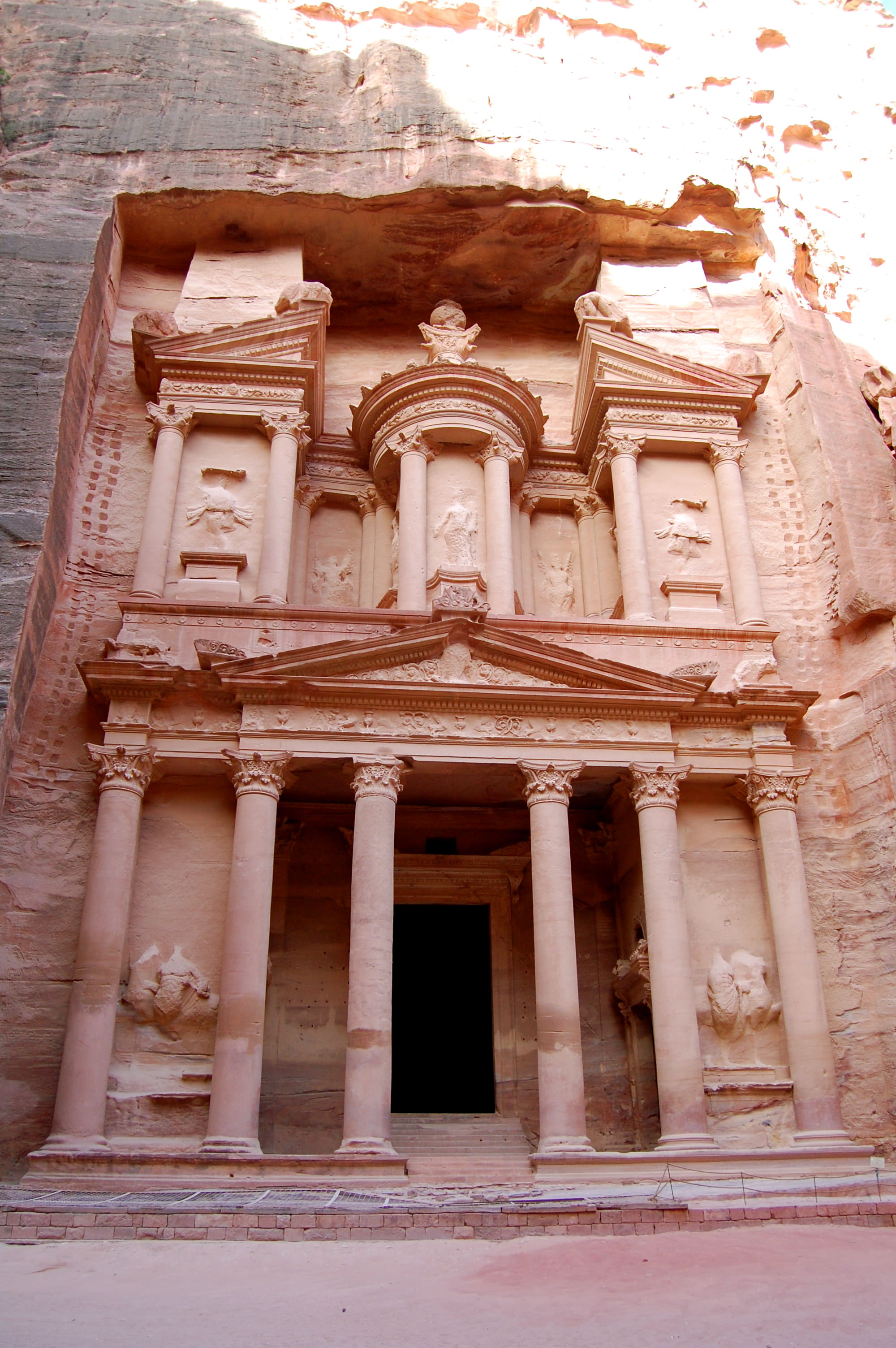 View of the Treasury - Petra, Jordan