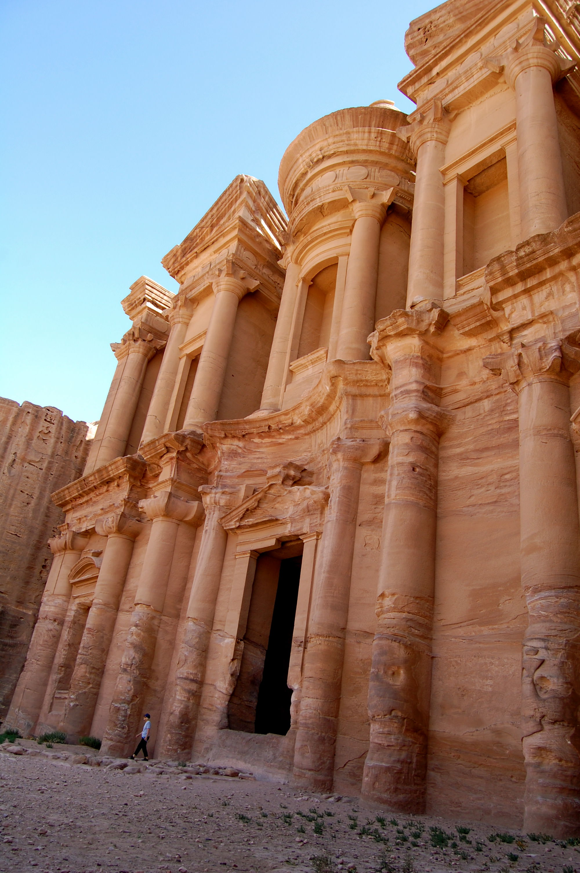 View of the Monastery, Petra