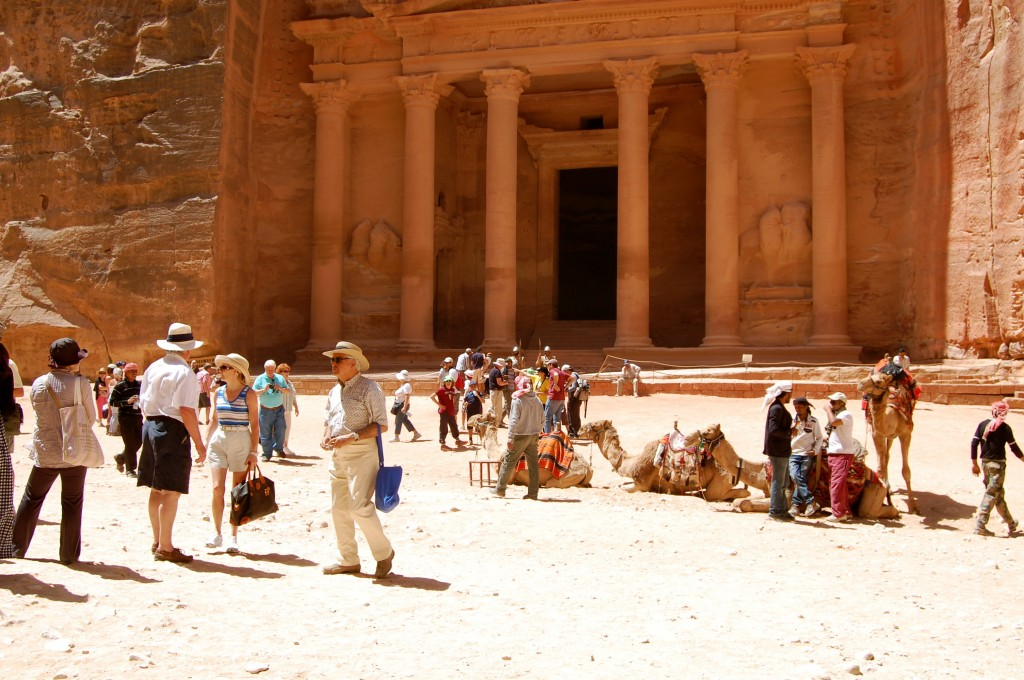 The Treasury in the afternoon - Petra, Jordan
