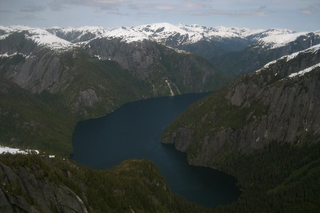 Misty Fjords National Monument in Ketchikan, Alaska