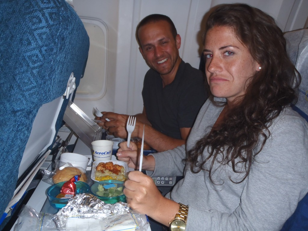 Awful food - review of Aerosvit Airlines