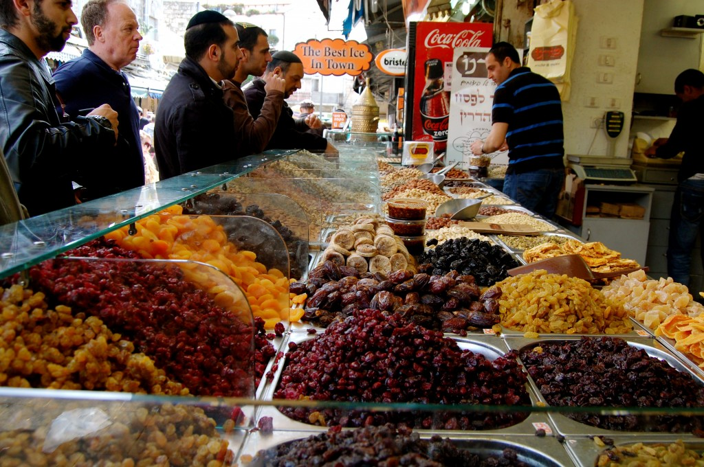 Dried fruits and nuts in Israel