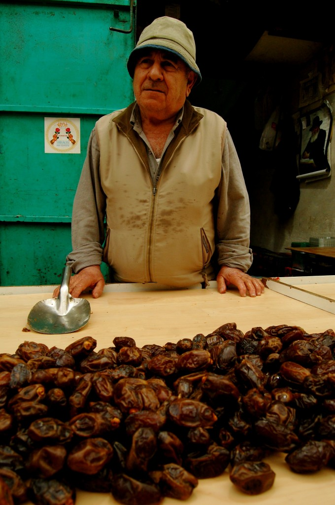 Fig vendor in Israel