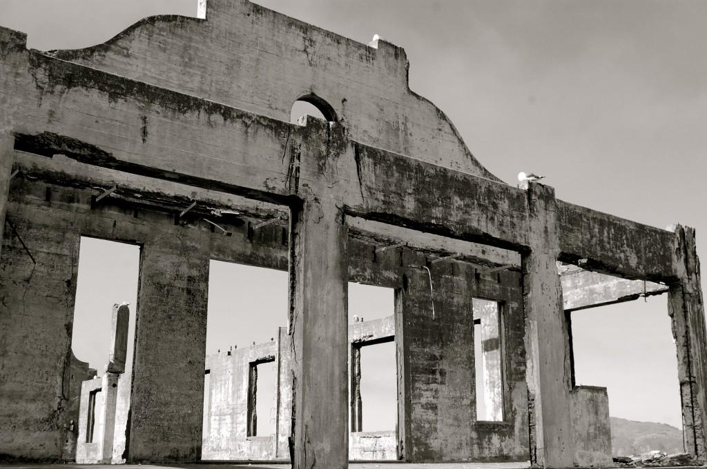 Former officers club at Alcatraz