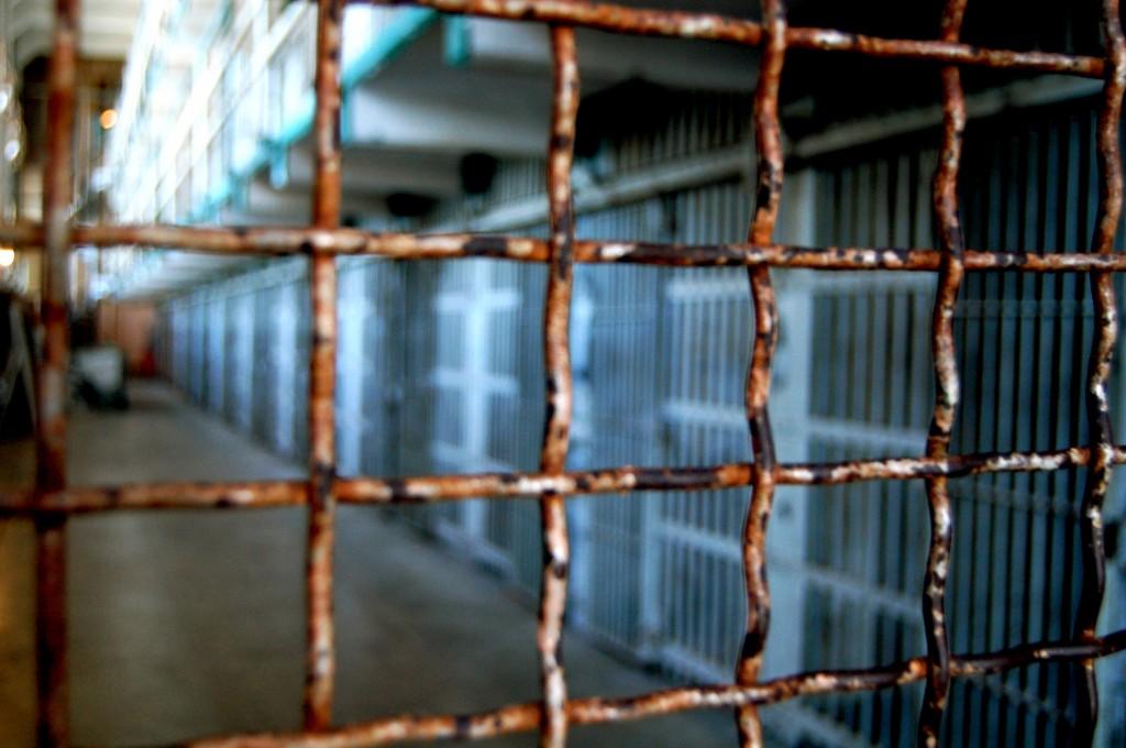 Wire gate at Alcatraz
