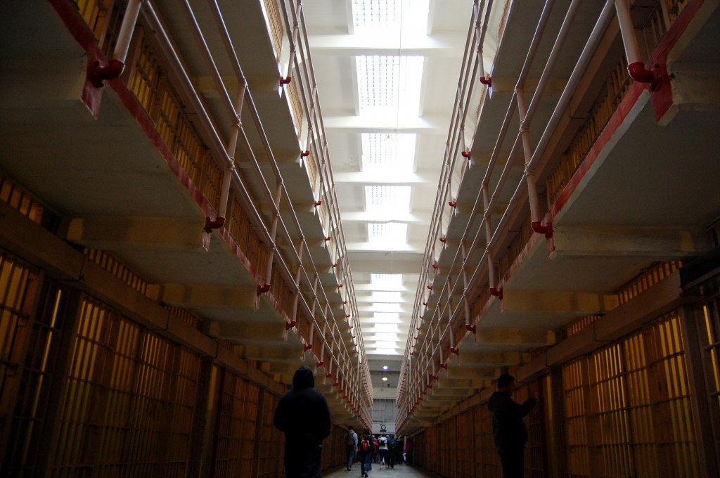 Cells at Alcatraz