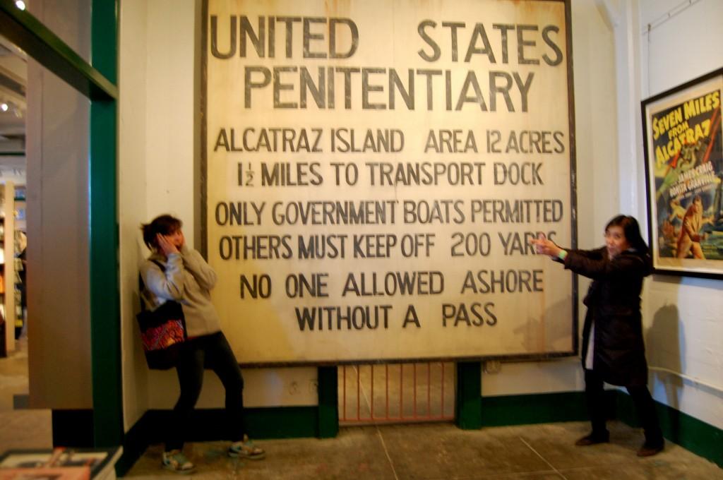 My mom and me at Alcatraz
