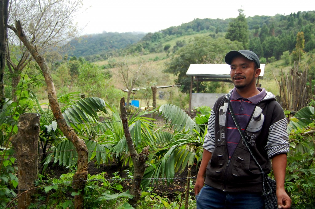 Our guide on Pacaya Volcano in Guatemala