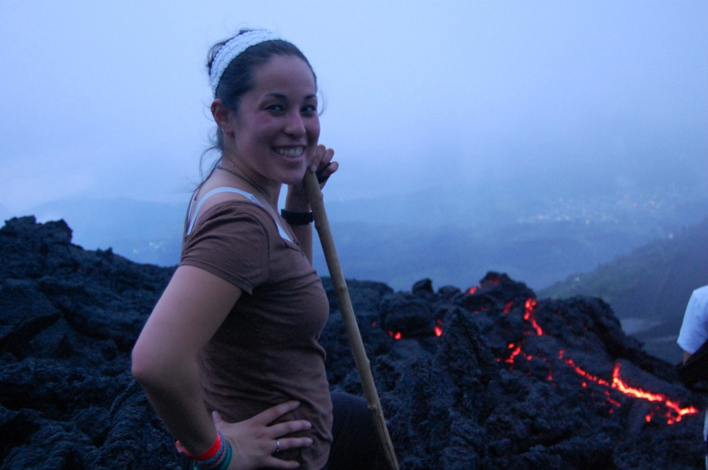 Climbing Pacaya Volcano