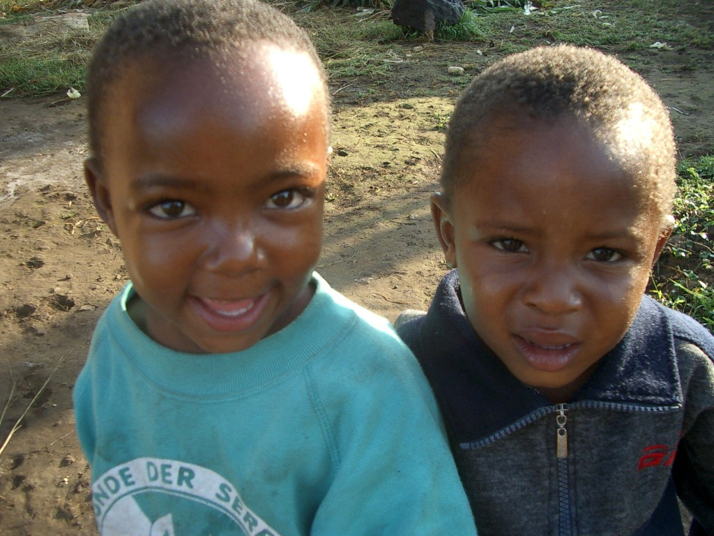 Adorable kids in Tanzania
