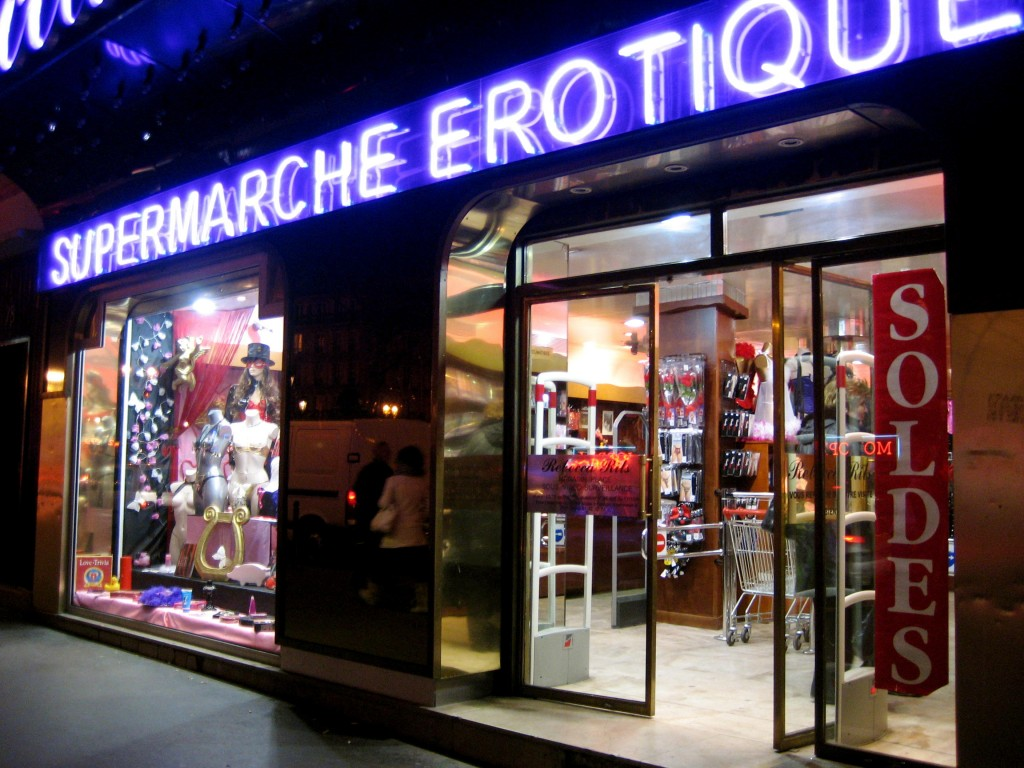 Supermarche Erotique in Paris, France