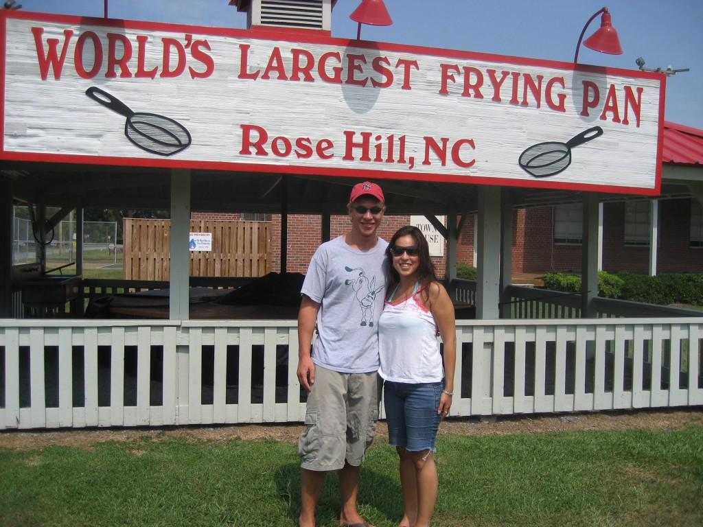 The World's Largest Frying Pan