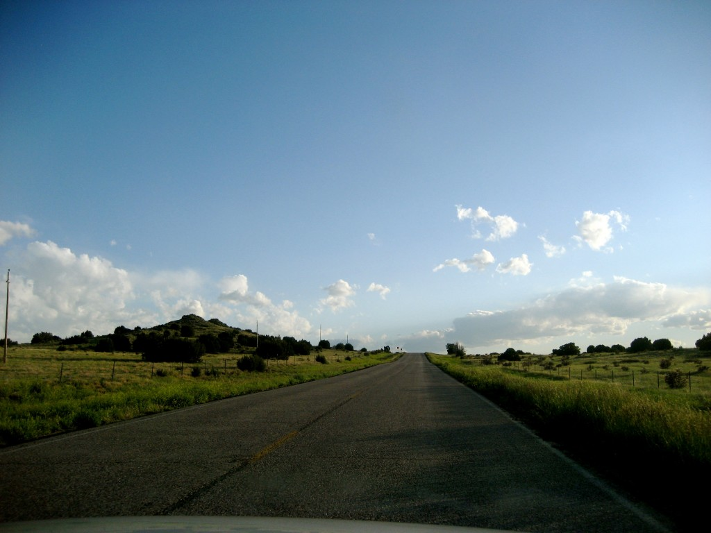 Open road in America