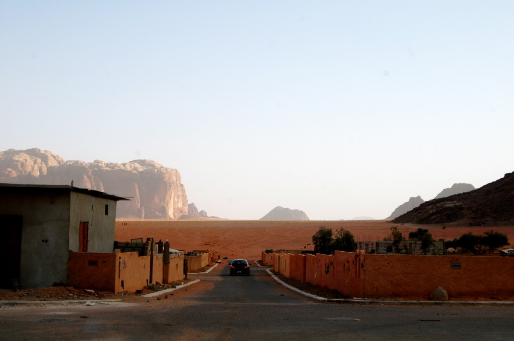 Entrance to the Wadi Rum Desert