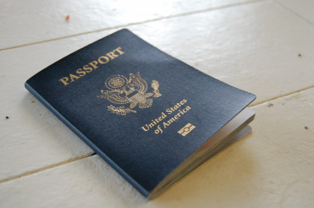 Photo of American passport