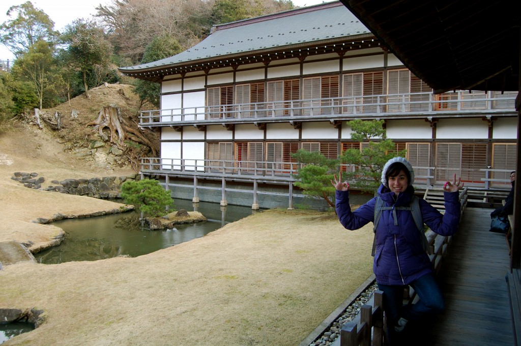 Kenchoji Temple while visiting Kamakura, Japan