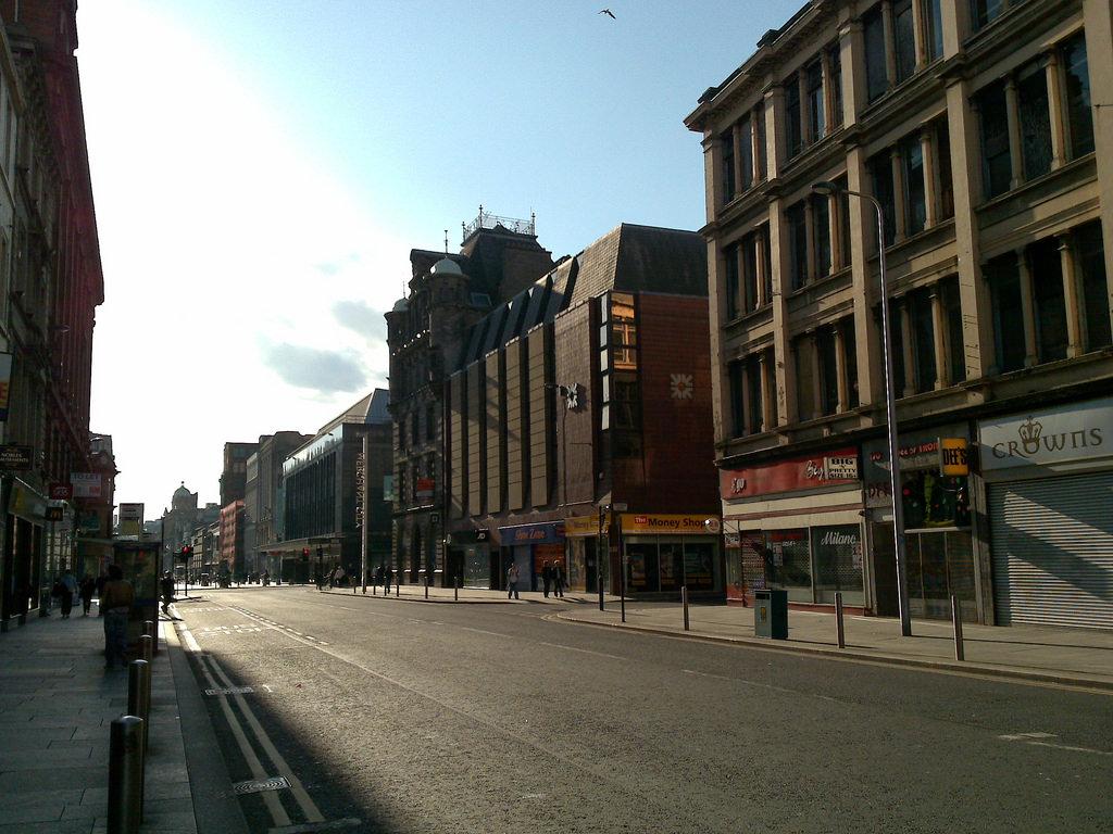 Glasgow, Scotland downtown