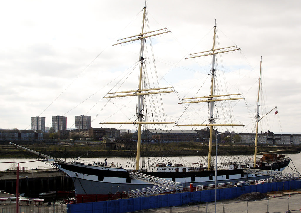 The Glenlee in Glasgow, Scotland