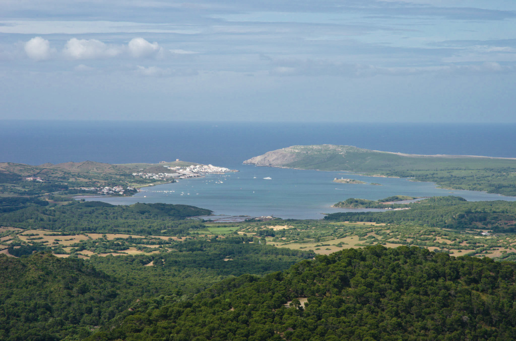 View of Menorca