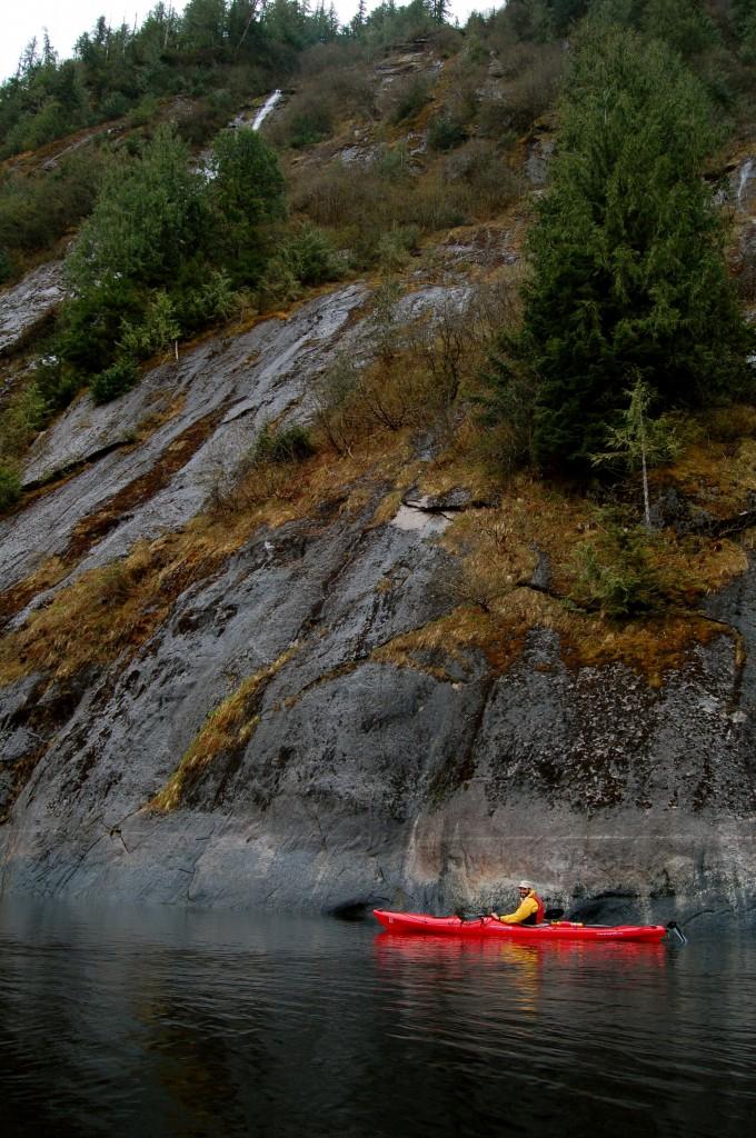 Kayaking in Rudyerd Bay, Misty Fjords National Monument, Alaska