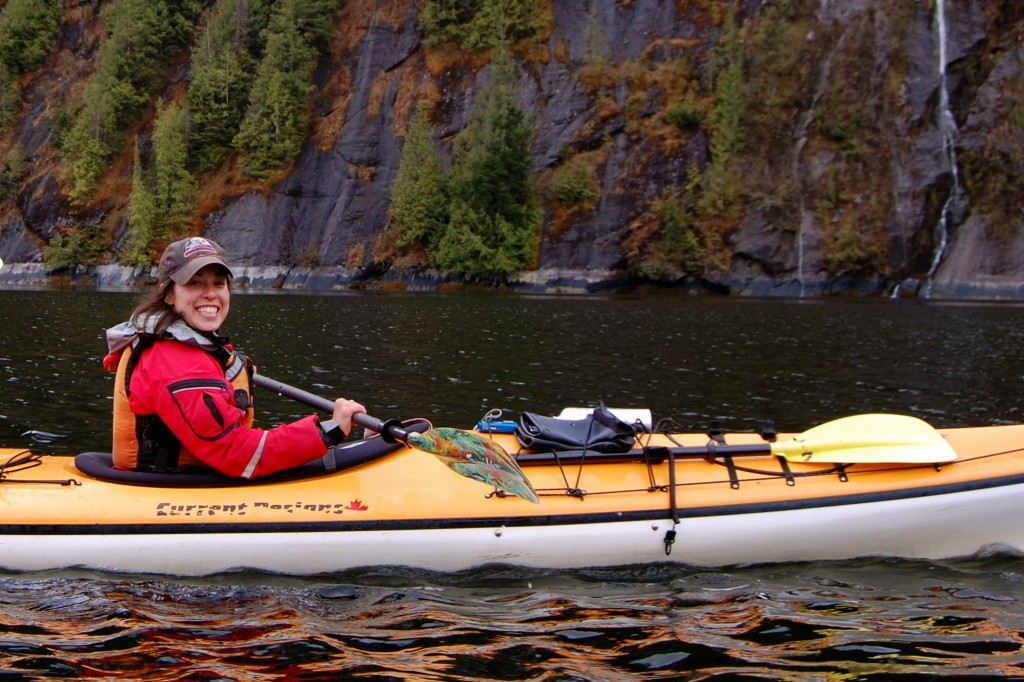 Kayaking in Misty Fjords National Monument, Alaska