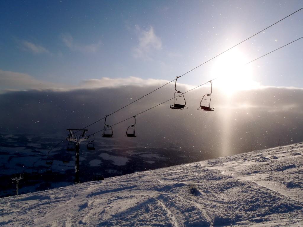 Ski lifts in Breckenridge, CO