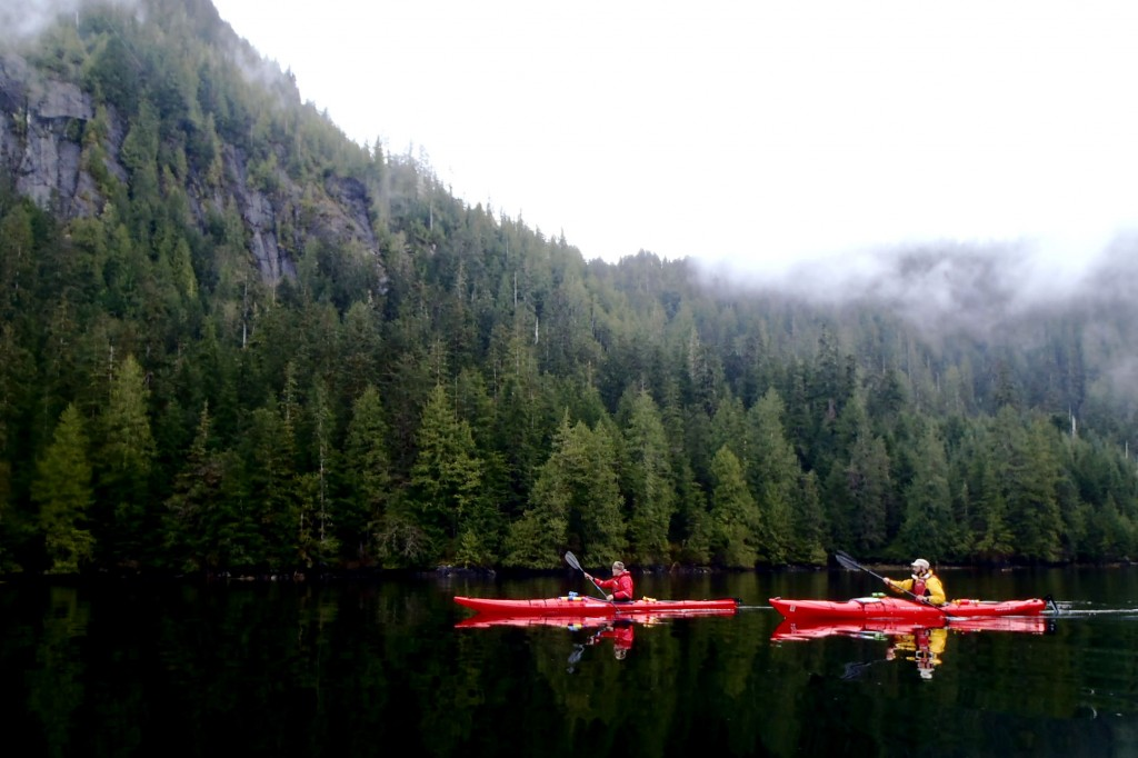 Kayaking in Misty Fjords National Monument, Alaska
