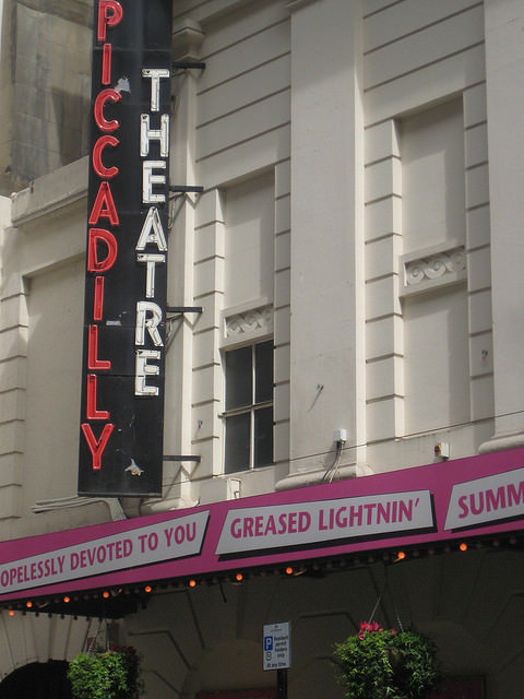 Picadilly Theatre in London