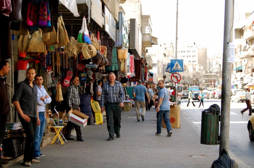 Streets of Amman, Jordan