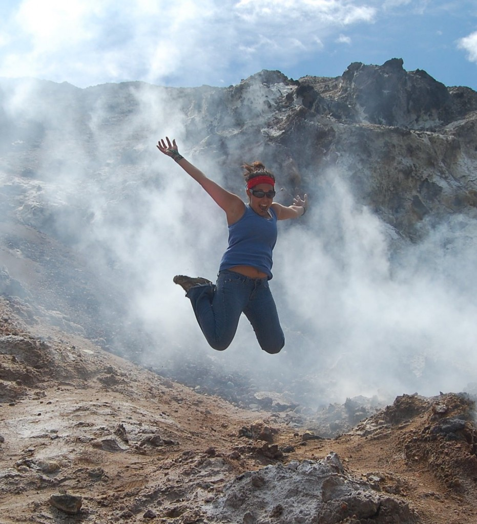 Volcano jumping in Nicaragua