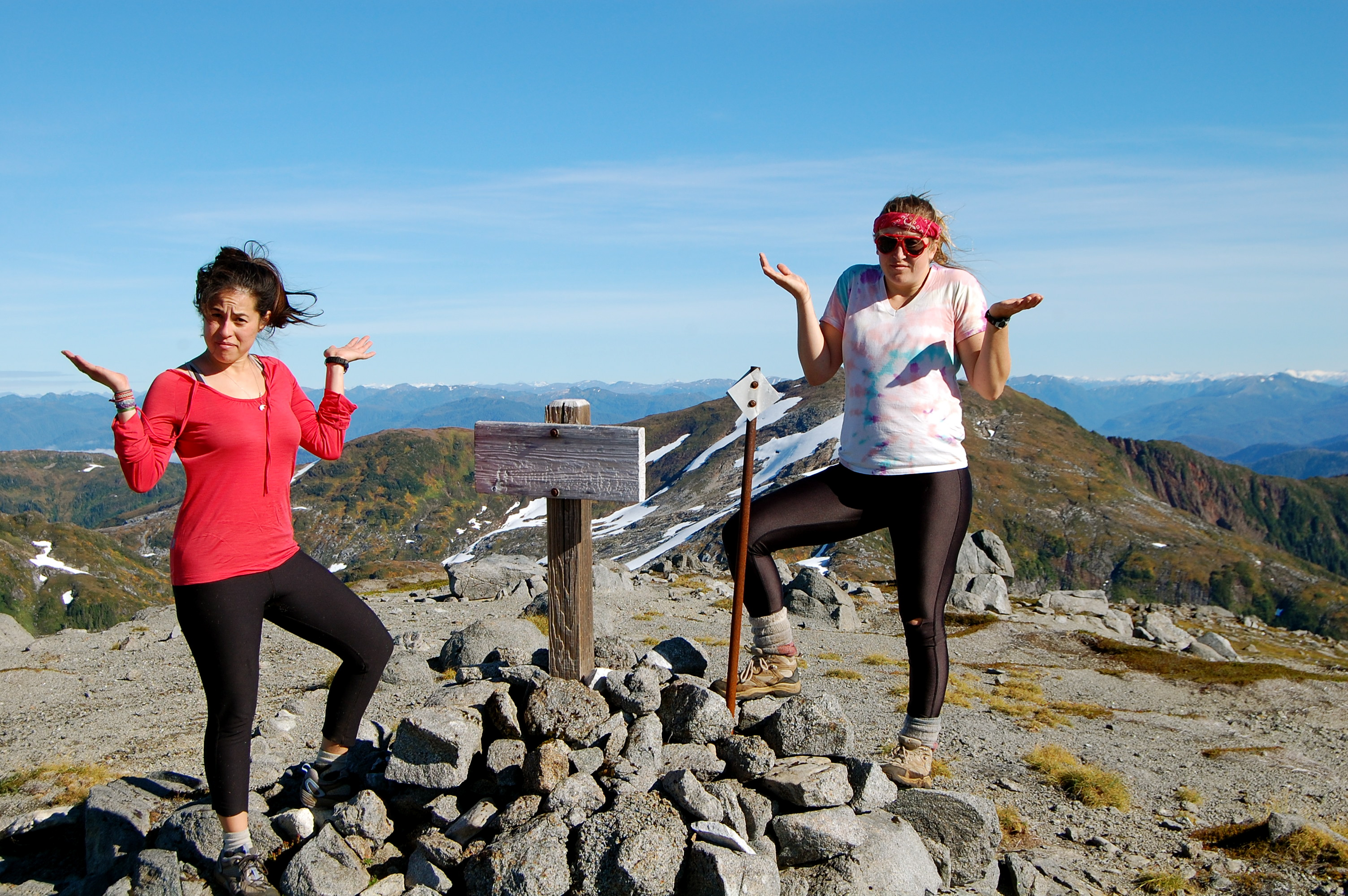 Hiking Silvis Trail in Ketchikan, AK