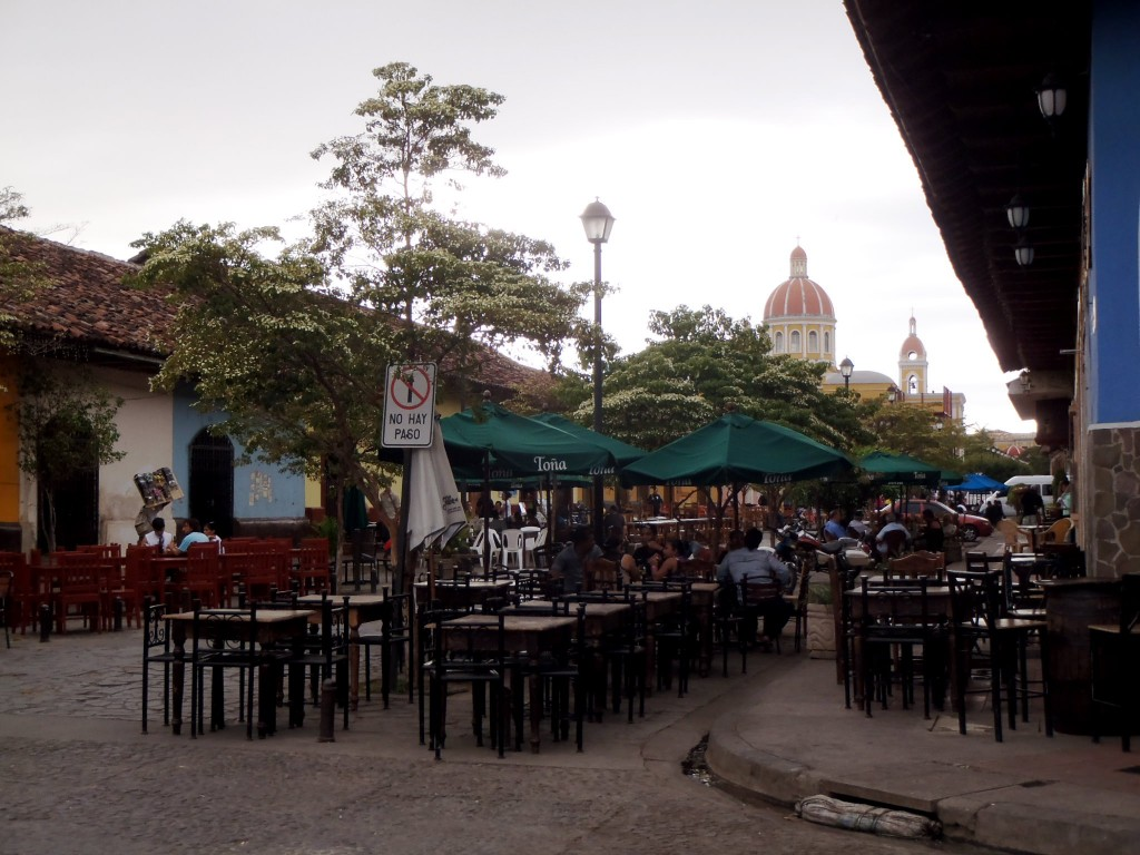 Calle La Calzada, Granada, Nicaragua