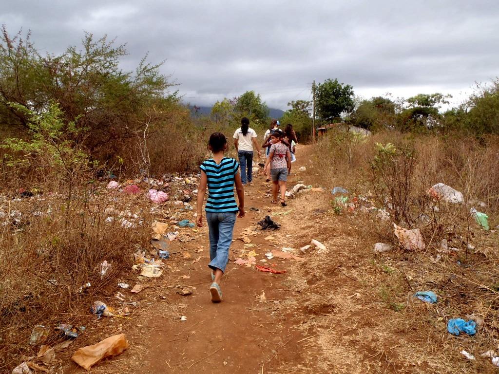 Kids in the barrios of Granada, Nicaragua