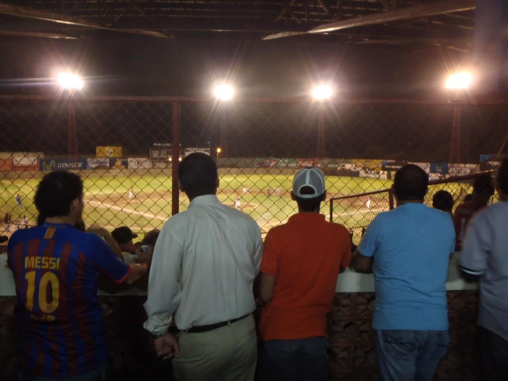 Baseball game in Granada, Nicaragua