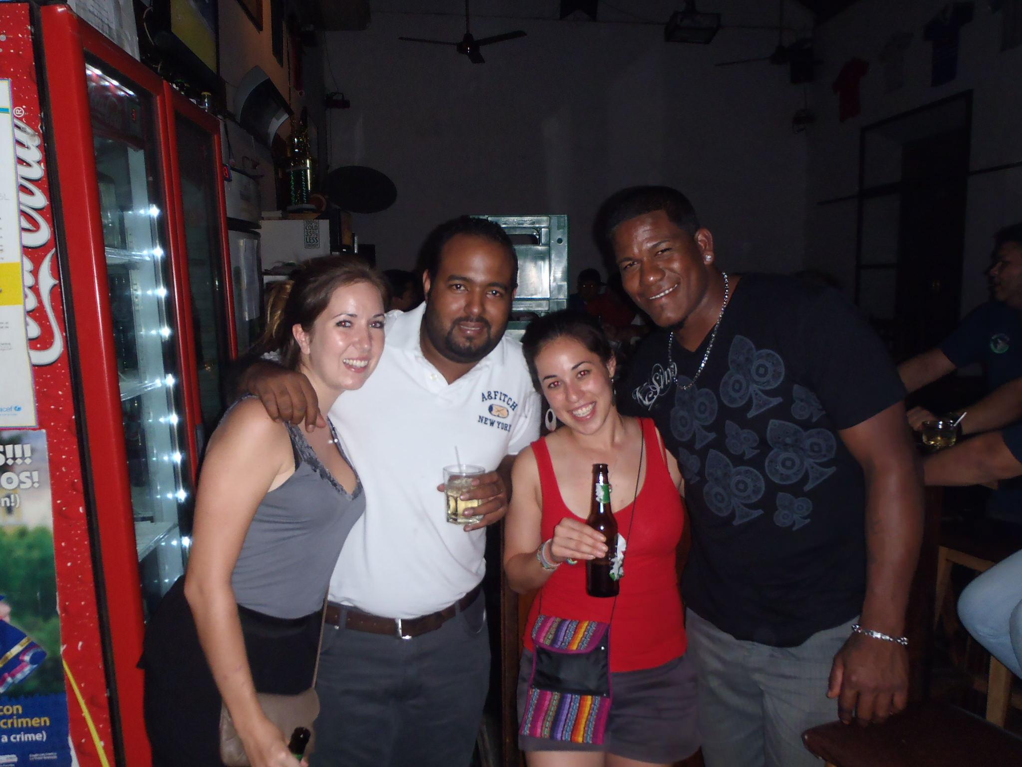 At Kellys bar