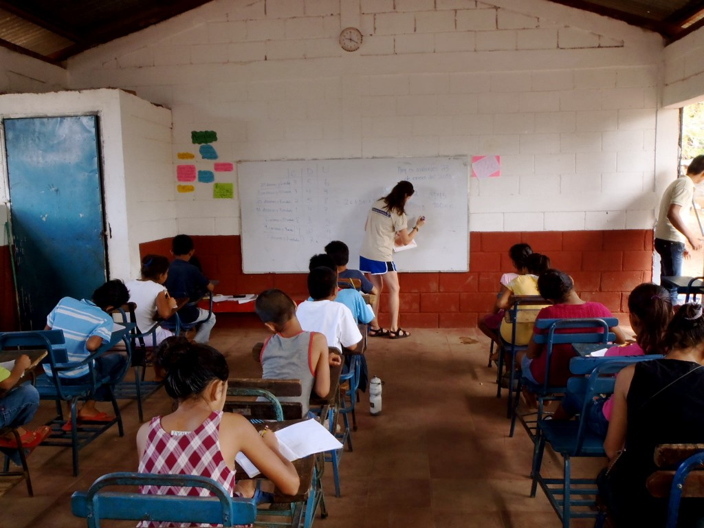Teaching math with La Esperanza Granada