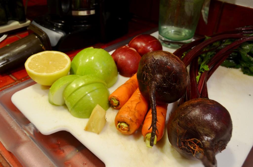 Juicing ingredients