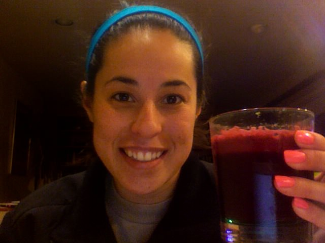 Who loves juice? This girl!