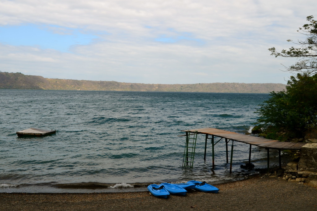 View of Laguna de Apoyo from the Monkey Hut
