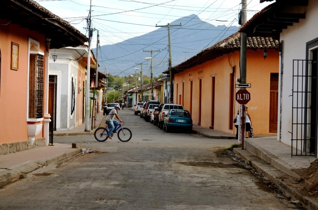 Street scene, Granada, Nicaragua