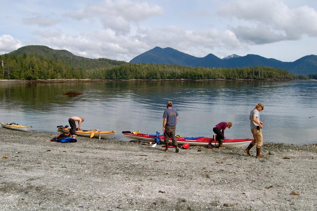 Blank Islands. Sea kayaking in Ketchikan, Alaska.