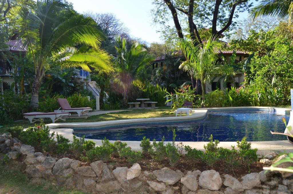 Pool at Harbor Reef Surf Resort in Nosara, Costa Rica