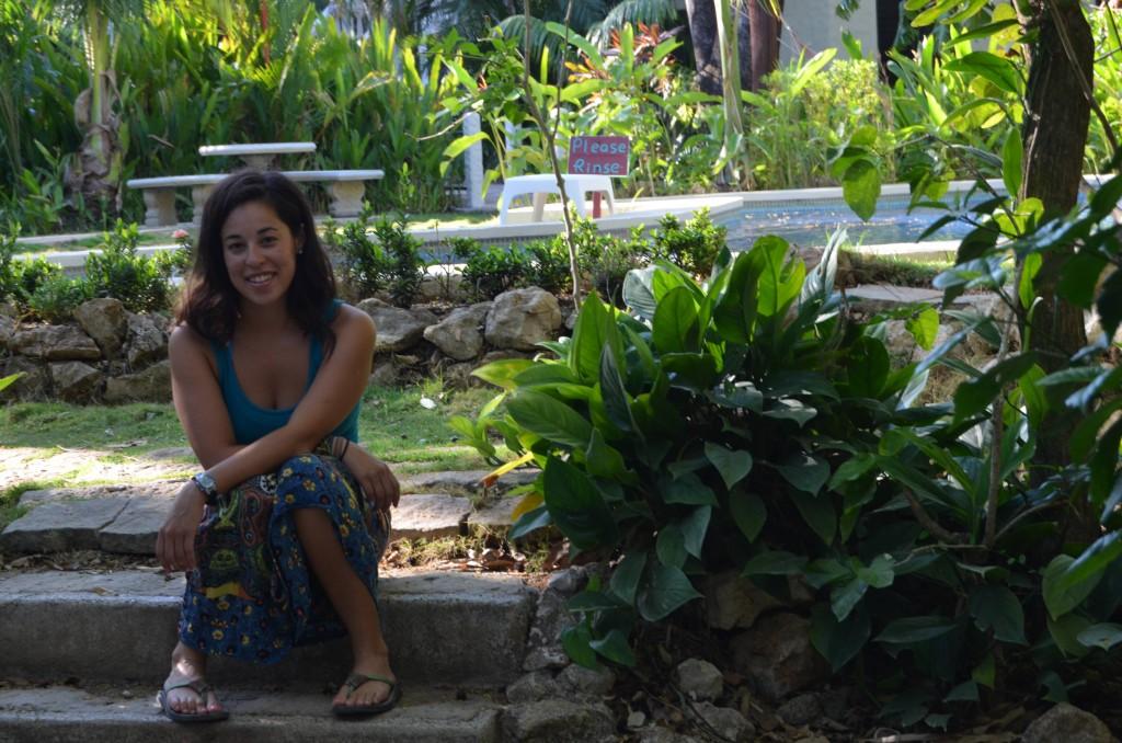 Grounds of Harbor Reef Surf Resort in Nosara, Costa Rica
