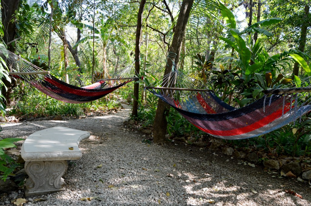 Hammocks at Harbor Reef Surf Resort in Nosara, Costa Rica
