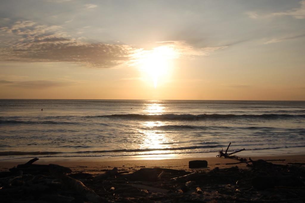 Sunset on Playa Guiones, Nosara, Costa Rica